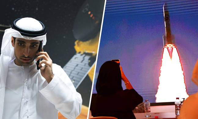United Arab Emirates Launches First Mission To Mars