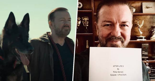 Ricky Gervais Confirms First Episode Of After Life Series 3 Is Written