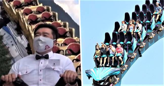Japan Bans Visitors From Screaming On Roller Coasters At Reopened Theme Parks