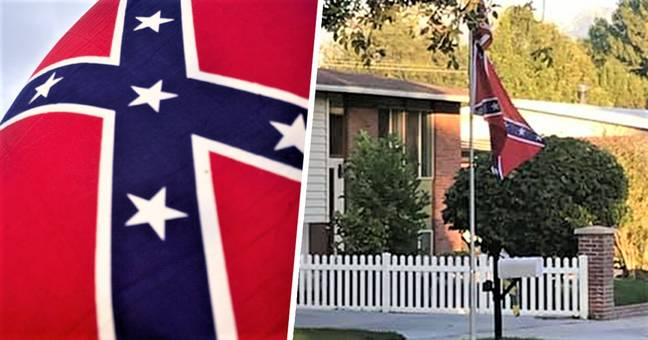 Officer Investigated For Flying Confederate Flag In His Front Yard