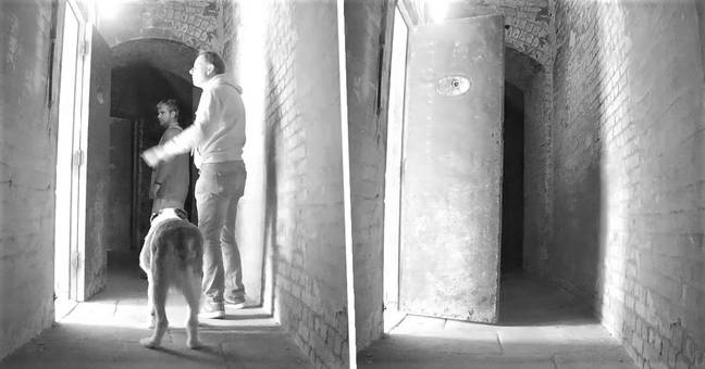 Ghost 'Caught Closing Door' In Eerie Footage From Abandoned Fort