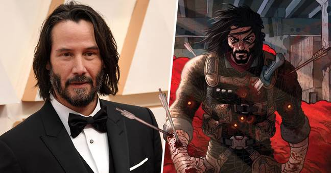 Keanu Reeves Has Written A Comic About A Hyperviolent Immortal Starring Himself