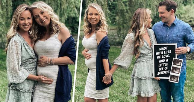 Woman Couldn't Get Pregnant So Her 51-Year-Old Mum Becomes Her Surrogate