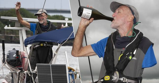 One-Armed Sailor Braves Atlantic By Himself For 37 Days To Reach Daughter's Wedding