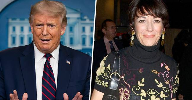 Trump Sends Sex Trafficking Suspect Ghislaine Maxwell Message Of Support