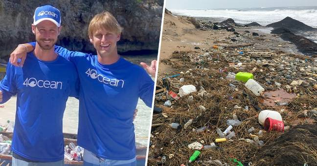 Two Surfers Start Company That's Pulled Almost 10 Million Pounds Of Garbage Out Of The Ocean