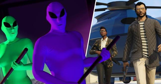 GTA Online Players Find Secret UFO Mission Ten Years After Release
