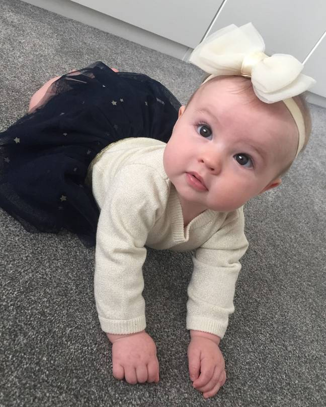 Baby whose pictures were used on website