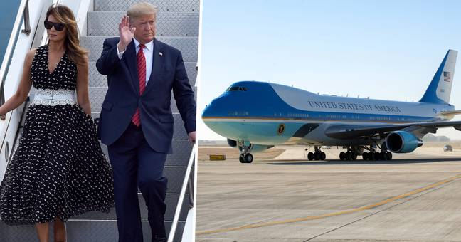 Drone Almost Hits Air Force One With Trump, Melania, And Son Barron On Board