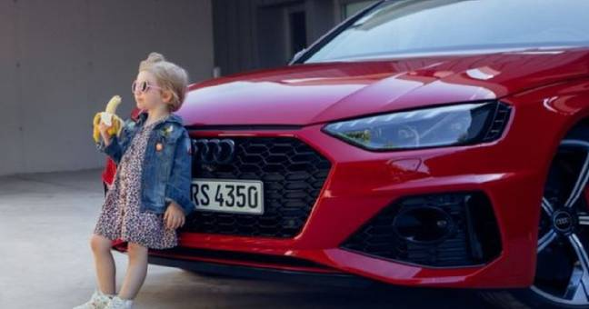 Audi Drops 'Insensitive' Ad Featuring Girl Eating Banana In Front Of Car