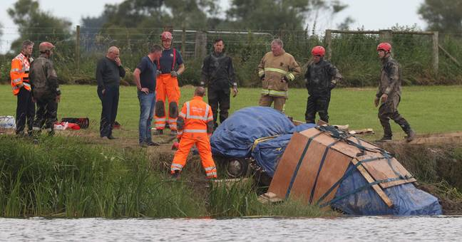 Body Of Man Missing Since 1991 Found Inside Car At Bottom Of River In Northern Ireland