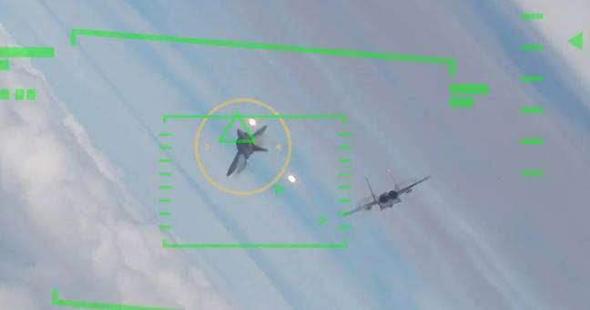 US Air Force Pilot Battling AI Pilot In Five Simulated Dogfights Lost Every Time