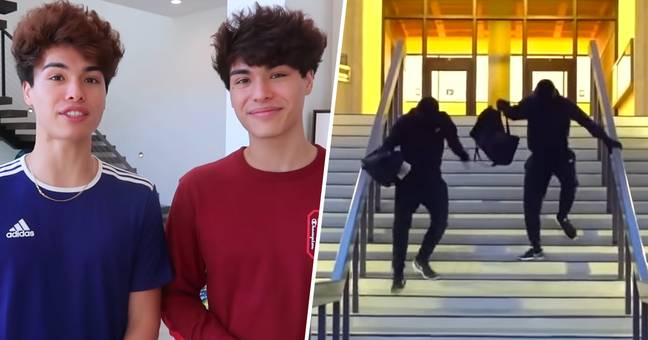 Twin TikTok Stars Face Four Years In Prison After Pulling Off Bank Robbery Prank