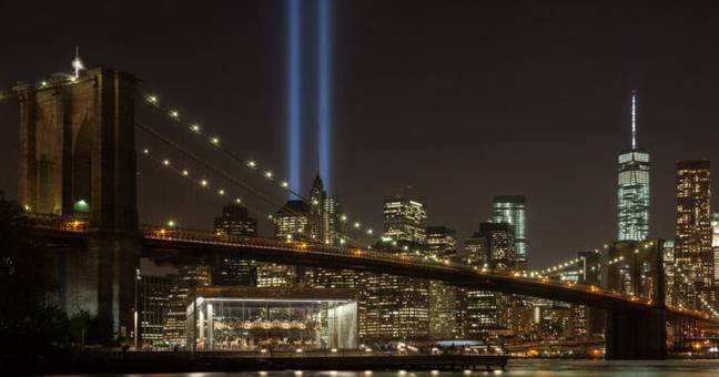 New York's 9/11 Tribute (PA Images)
