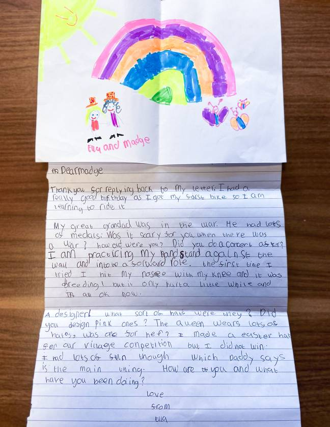 six year old girl has pen pal 1