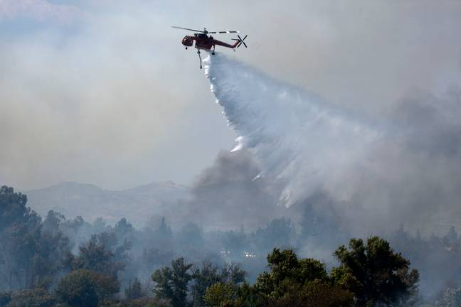 Gender Reveal Party Blamed For Starting Huge Californian Wildfire