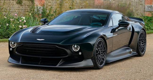 Aston Martin Creates One Of A Kind Supercar Called The Victor