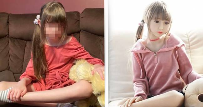 Mum Horrified To Discover Child Sex Doll With Daughter's Image