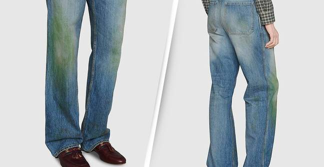 Gucci Is Selling $800 Jeans With Fake Grass Stains On The Knees