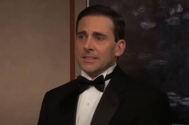 Steve Carell reacts to Goodbye Michael