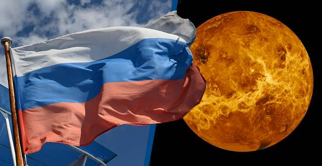 Russia's Space Agency Just Claimed Venus Is A Russian Planet