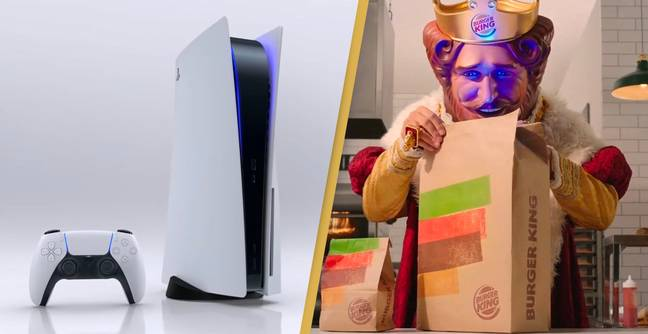 Burger King Is Giving Away Free PS5 Consoles For A Limited Time