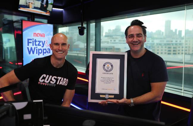 Fitzy and Wippa celebrate Hot Wheels Track 2
