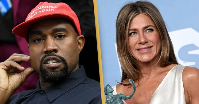 Kanye West Reacts To Jennifer Aniston Saying Not To Vote For Him
