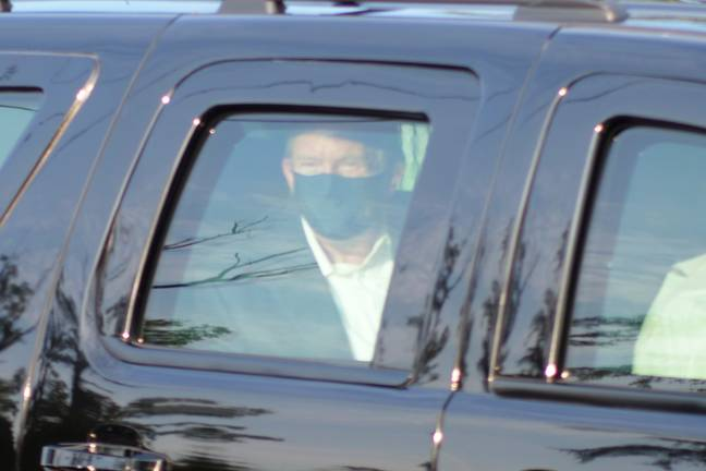 Trump, Infected With COVID-19, Took Car Journey With Guards To Greet Fans