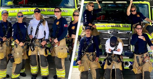 Florida Firefighters Make History As Department's First All-Female Crew