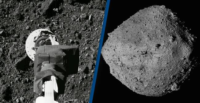NASA Makes Historic Landing On Asteroid Bennu To Collect Rock Samples