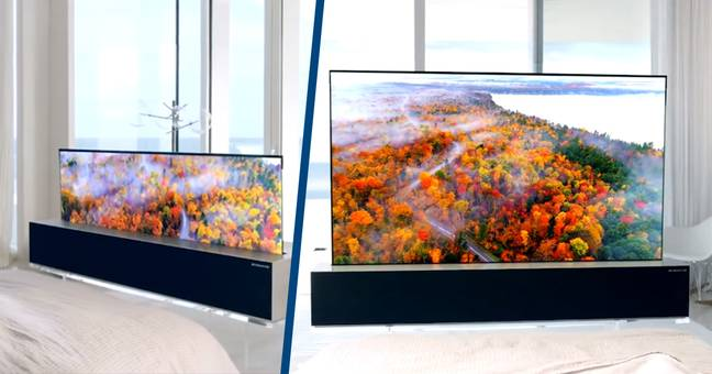 You Can Now Buy LG's Rollable OLED TV For $87,000