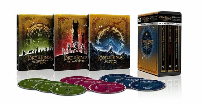 The Lord Of The Rings Trilogy Is Being Released On 4K For First Time Ever