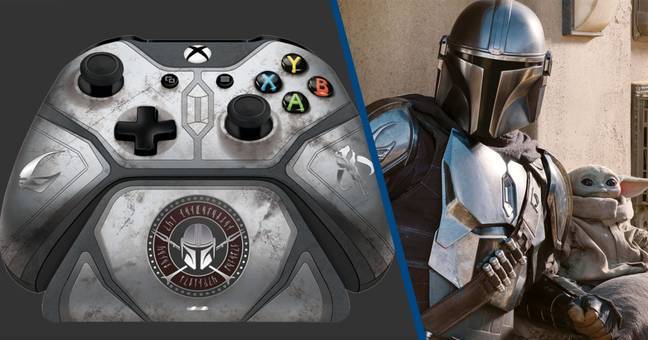 Xbox Reveals New $160 Mandalorian Controller For Xbox One