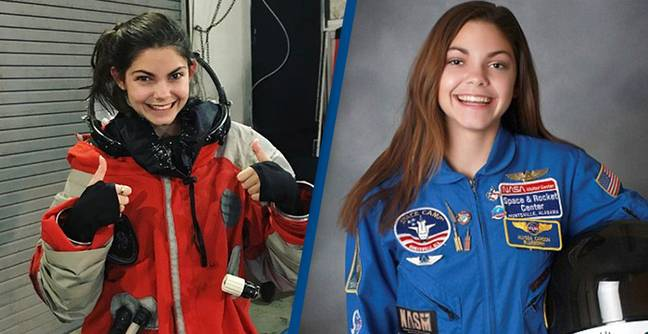 Teen Astronaut Training To Become First Human To Walk On Mars