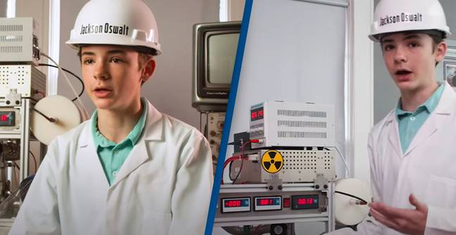 12-Year-Old Becomes Youngest Person Ever To Build Working Nuclear Reactor