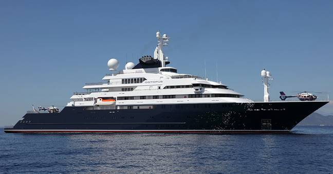 Incredible £263m Superyacht Previously Owned By Microsoft Co-Founder Is For Sale