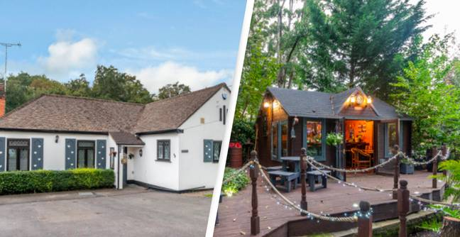 House Goes On Sale With Secret Pub In Garden To Get Past 10pm Curfew