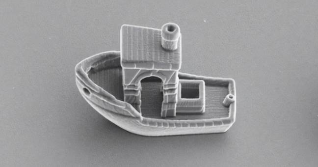 A Cell-Sized Boat Has Been 3D Printed
