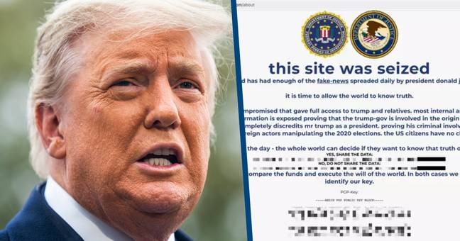 Donald Trump's Campaign Website Hacked With Promise To Tell World The 'Truth'