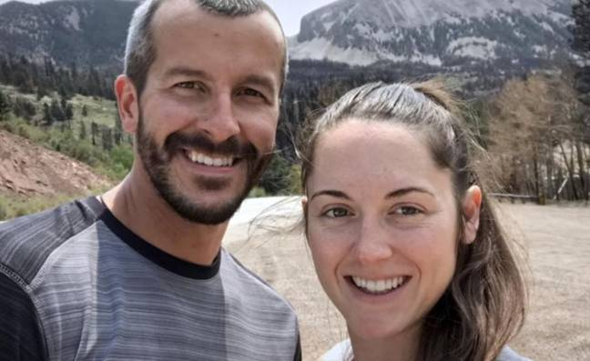 Chris Watts with woman said to be in affair