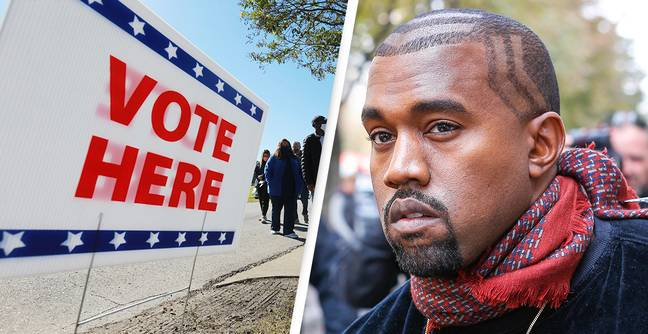Kanye West Voted For Himself As Write-In Candidate