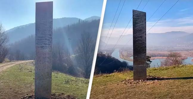 Mysterious Monolith Like One Found In Utah Appears On Romanian Hill