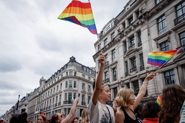 Pride in London Parade (PA Images)