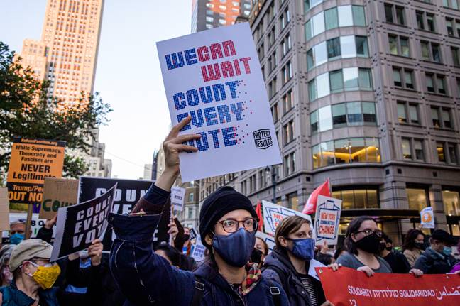 NYC: March to Demand Every Vote is Counted