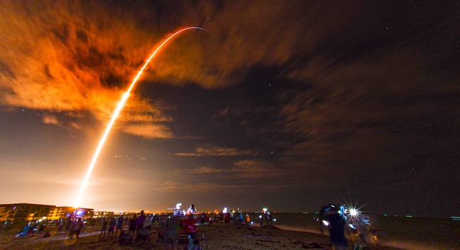 SpaceX Crew Launch