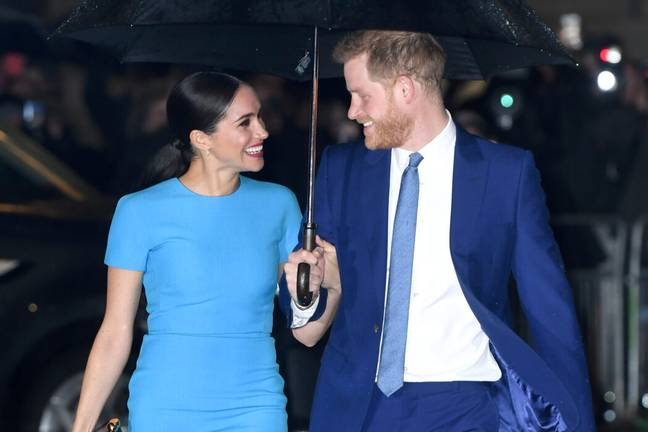 Prince Harry and Meghan (PA Images)
