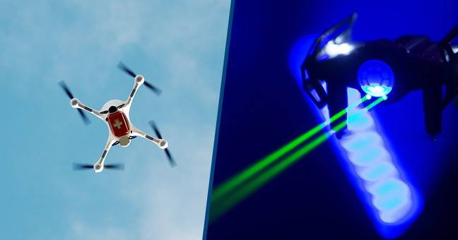 Japan Wants To Develop Drone-Hunting Lasers