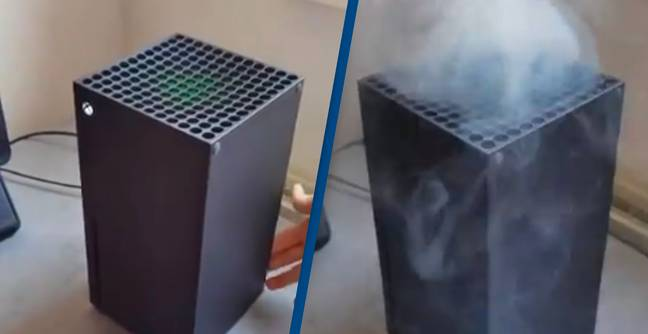 Microsoft Ask People To Stop Vaping Into Their Xbox Series Xs