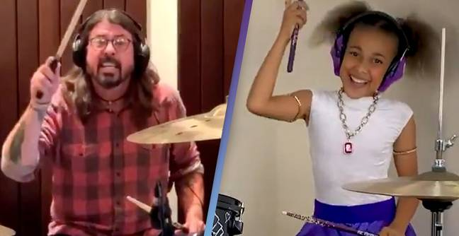 Dave Grohl Concedes Defeat In Ongoing Drum Battle With 10-Year-Old
